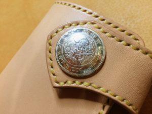 龍50銭コンチョ