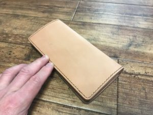 オーダー革財布