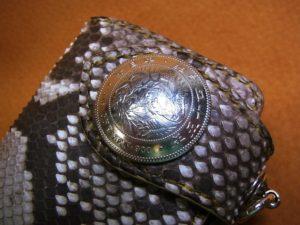 ヘビ革財布オーダー