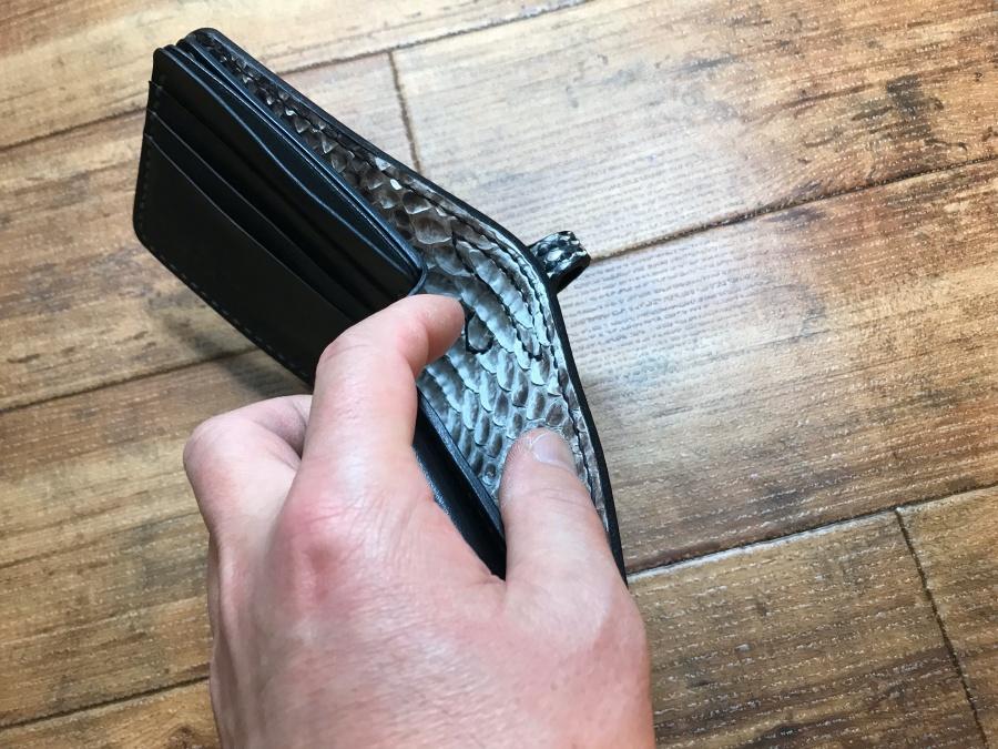 2つ折革財布オーダー