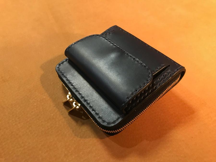 ミニ財布(ダブルファスナー)