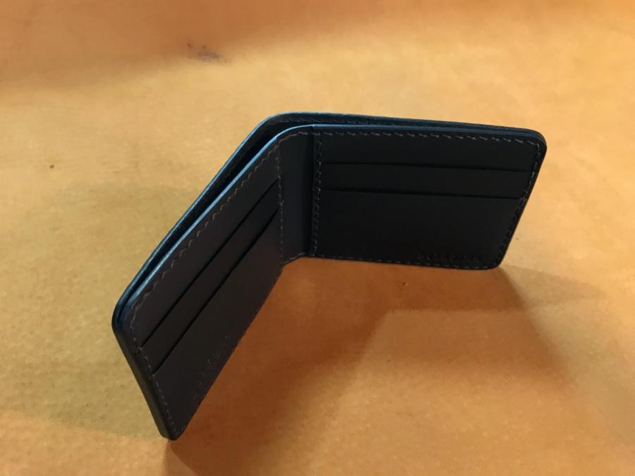 2つ折革財布オーダー製作