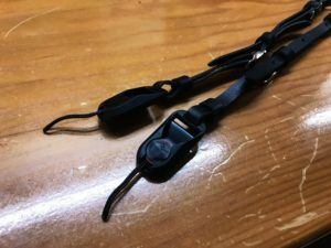 ミラーレス用ヌメ革カメラストラップ(革製ストラップ)