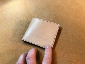 2つ折財布(小銭入れ無し)