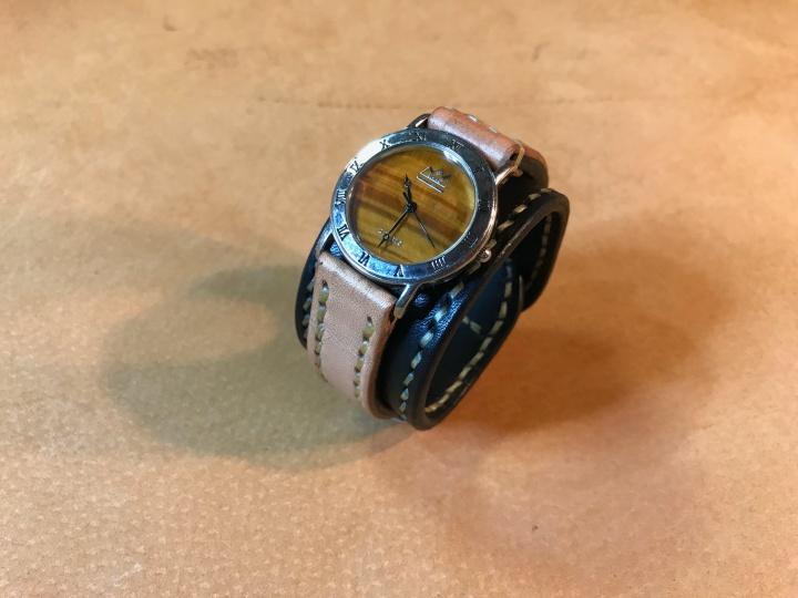 時計バンドリメイク