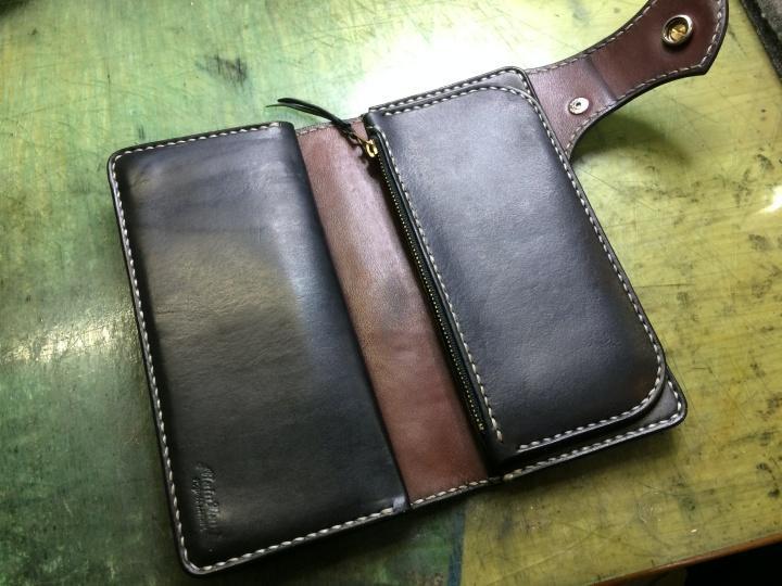革財布リメイク