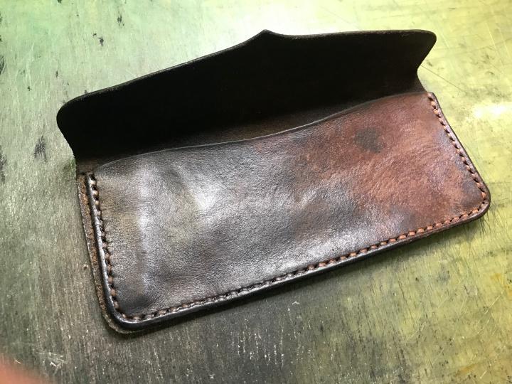 革財布リペア